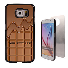 For Samsung Galaxy Etui Mønster Etui Bakdeksel Etui Ord / setning PC SamsungS6 edge plus / S6 edge / S6 / S5 Mini / S5 / S4 / A8 / A7 /