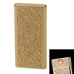 """personnalité originalité charge plus léger coupe-vent en métal léger mince cigarette électronique """"tigre"""" ultra silencieuse"""