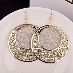 Γυναικεία Κρεμαστά Σκουλαρίκια Κοσμήματα με στυλ Γιορτές/Διακοπές Εξατομικευόμενο Νυφικό κοστούμι κοστουμιών Κράμα Circle Shape Κοσμήματα