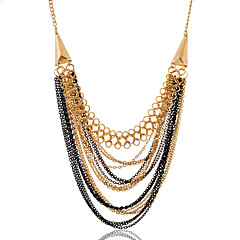 Jewelry Statement Necklaces Party / Daily / Casual Alloy 1pc Women Wedding Gifts