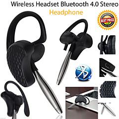 bluetooth 360 ° auricular ajustable micrófono auriculares in-ear para Samsung S4 / S5 todos los teléfonos andriod iphone