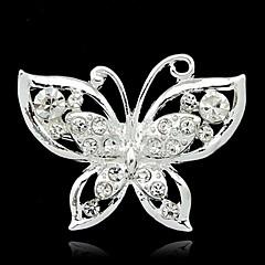 Kadın Reçine Yapay Elmas alaşım Moda Gümüş Mücevher Günlük