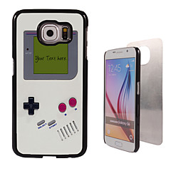 For Samsung Galaxy etui Mønster Etui Bagcover Etui Tegneserie PC SamsungS6 edge plus / S6 edge / S6 / S5 Mini / S5 / S4 / A8 / A7 / Note
