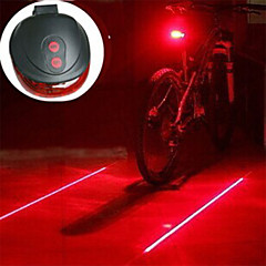 Pyöräilyvalot / Lyhdyt ja telttavalot / Polkupyörän jarruvalo / turvavalot Laser / LED - Pyöräily Iskunkestävä / Helppo kantaa / Varoitus