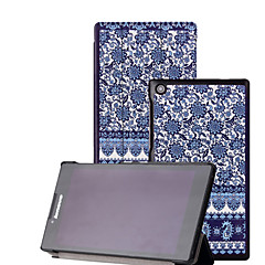 """Shy Bear™ Leather Cover Stand Case for Lenovo Tab 2 A7-30 7"""" Tablet"""