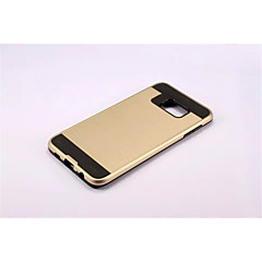 Armor Stripe Wiredrawing Hard Case PC+Silicone Skin Cover For Galaxy S6 Edge Plus/Galaxy S6 Edge/S6/S5/S4