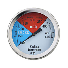 100-475℉  Stainless Steel Oven Thermometer BBQ Grill Cooking Temperature Guage