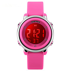 Skmei®Fashion Children LED Digital Multifunction Wrist Watch 50m Waterproof Assorted Colors Cool Watches Unique Watches