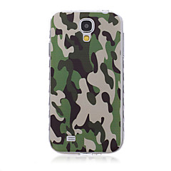For Samsung Galaxy etui Mønster Etui Bagcover Etui Camouflage TPU SamsungS6 edge plus / S6 edge / S6 / S5 Mini / S5 / S4 Mini / S4 / S3