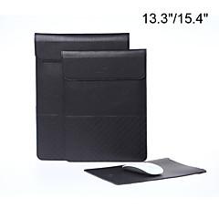 프로 망막 수직 스타일 lichee 곡물 봉투 태블릿과 맥북 에어에 대한 노트북 슬리브 가방 케이스 / 13.3 / 15.4