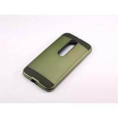 Voor Motorola hoesje Schokbestendig hoesje Achterkantje hoesje Pantser Hard PC voor Motorola MOTO G4 / Moto G4 Plus