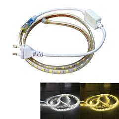 Jiawen vandtæt 13W 850lm 60x5050 SMD LED fleksibel lys strimler (1m længde / 220v)