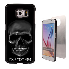 For Samsung Galaxy etui Mønster Etui Bagcover Etui Dødningehoved PC SamsungS6 edge plus / S6 edge / S6 / S5 Mini / S5 / S4 / A8 / A7 /