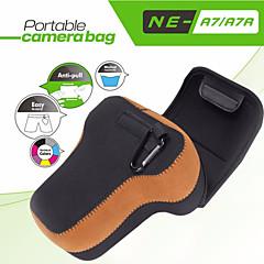 neopine A7-2 weiche Kamera innere Schutzdreieckstasche mit Karabiner für Sony a7 ii / A7 / A7R, für Olympus em1