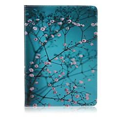 A szilva virág mintás sztentek tok iPad levegő 2