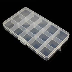 15 compartimenten vrije combinatie plastic opbergdoos voor hardware-instrumenten