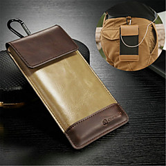 Universal Genuine Leather Metal Key Chain Case for HTC One M7/M8/M9 (Assorted Colors)