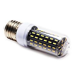 6W E14 / E26/E27 LED a pannocchia T 96 SMD 4014 600 lm Bianco caldo / Bianco AC 220-240 V 1 pezzo