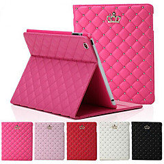 Original High Quality Crown Design Leather Flip Smart Case For Apple iPad Air Cover Back Case Housing