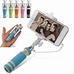 vormor®extendable câble déclencheur à distance selfie poche bâton monopode pour iphone samsung
