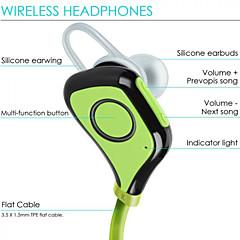 サムスンS6 6S iPhone用マイク付きIPX4防水スポーツのBluetoothヘッドフォンイヤフォン10時間無線スポーツヘッドセット
