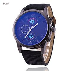 Men's Fashion Leather Brand Quartz Anolog Wrist Watch(Assorted Colors)
