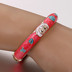 Pleasant European and American fashion cloisonne bracelet (color random) Tennis Bracelets Wedding /Casual 1pc