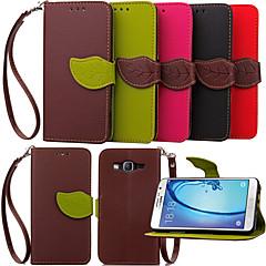 pénztárca kártya slot konzol juharlevél lógni kötél telefon esetében Galaxy on5 / on7 / Grand elsődleges / fő elsődleges / fiatal 2 / J1 /