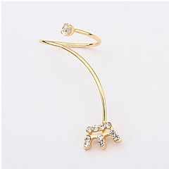 European And American Fashion Personality Crown Opening Lap Ring(Style random)