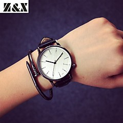 Men's Fashion Personality Leather Quartz Analog Sport Watch(Assorted Colors) Cool Watch Unique Watch
