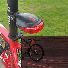 Radlichter , Rückleuchten - 7 Modus 100 Lumen Einfach zu tragen AAA x Battery Batterie Radsport/Fahhrad Rot Fahhrad Others 7
