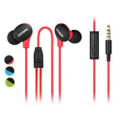 diy wysokiej jakości ultralekkie słuchawki sportowe słuchawki muzyczne mikrofon ucha do redukcji hałasu anty-pot / wodoodporny / poślizg