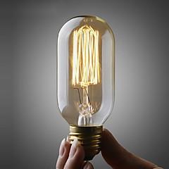 40W E27 ellipsoidin volframi hehkulamppu (220v-240v)