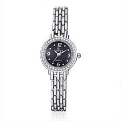 Damen Modeuhr / Armband-Uhr / Armbanduhr Quartz Legierung Band Silber Marke-