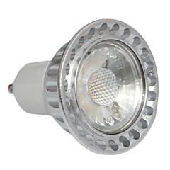 3W GU10 Spot LED MR16 1 COB 240 lm Blanc Chaud Graduable AC 100-240 V