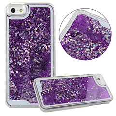 KARZEA™Unique Design Fluid Liquid Flowing Bling Shiny Sparkle Stars Back Cover Case for iPhone 5/5S(Assorted Colors)