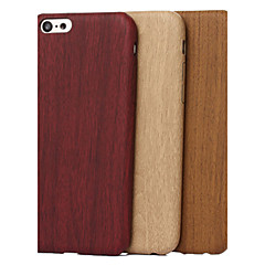 Til iPhone X iPhone 8 iPhone 5 etui Etuier Mønster Bagcover Etui Imiteret træ Blødt TPU for iPhone X iPhone 8 Plus iPhone 8 iPhone 7 Plus