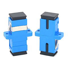 SC Flange Connector Optical Adapter Couplers  2PCS