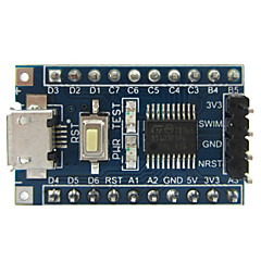 stm8s103f3 STM8 placa de desarrollo del núcleo bordo w / interfaz micro USB y nadar puerto