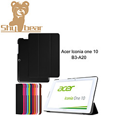 For Acer Lconia One 10 B3-A20 B3 A20 10.1'' Tablet Cases Custer PU Leather Cases Cover With Screen Protector