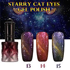 1PCS ANA Starry Cat Eyes Color Gel 12ml 24Colors Long Lasting Nail Polish 13-15