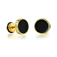Z&X® Fashion Platinum Plated Vintage Casual/Daily/ Party/ Casual Stud Earrings 2pcs