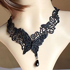 Κολιέ Κολιέ Τσόκερ Gothic κοσμήματα τατουάζ σφικτό Κοσμήματα Γάμου Πάρτι Halloween Καθημερινά Causal Τατουάζ Μοντέρνα Δαντέλα 1pc Δώρο
