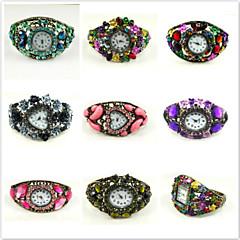 One One Bridal Dames Modieus horloge Digitaal Legering Band 9 # Willekeurige kleur