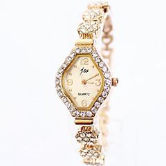 JW mærke luksus populære fuld rhinestone ure kvinder rosa guld ur dame mode ur kvinde armbåndsur