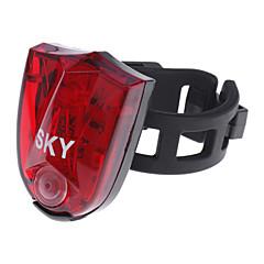Luci bici , Luci di coda / luci di sicurezza - 3 Modo 100 Lumens Ricaricabile / Resistente agli urti / antiscivolo Altro x3.7V 500mAh