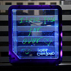 Light tablet LED message board fluorescence tablet fluorescence message board