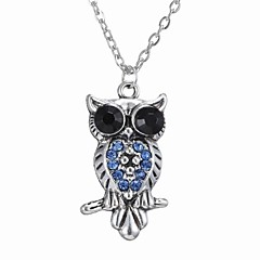 Owl Necklace All-Match Hair Pendant Necklace