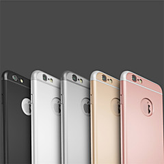 För iPhone 6 Plus-fodral Plätering fodral Skal fodral Enfärgat Hårt PC för AppleiPhone 7 Plus iPhone 7 iPhone 6s Plus/6 Plus iPhone 6s/6