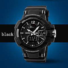 Herren Beobachten digital Sportuhr LED / Wasserdicht Plastic Band Armbanduhr